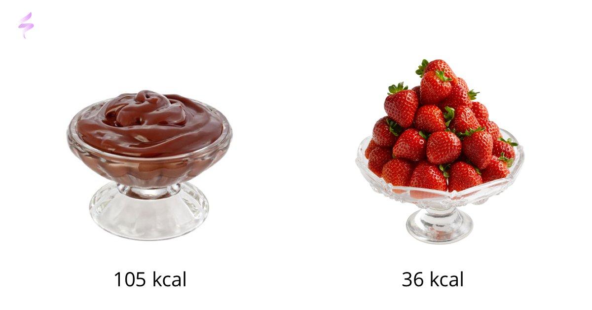 Chocoladevla vs. Aardbeien
