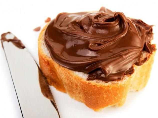 Boterham met Nutella