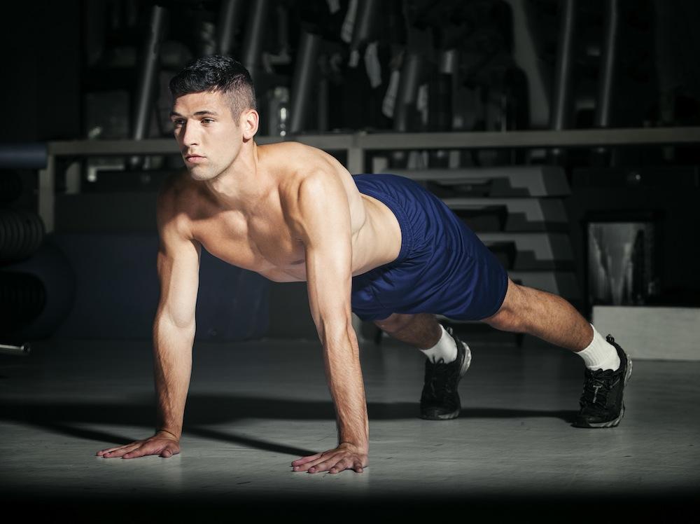Vijf oefeningen met je lichaamsgewicht